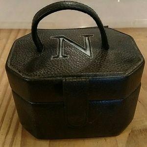 "Great little jewelry box! Monogrammed ""N""!"